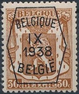 Belgium 1938 Coat of Arms - Precancel (9th Group) d.jpg
