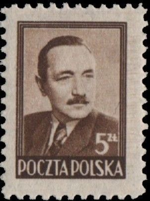 Poland 1948 President Boleslaw Bierut (1st Group)