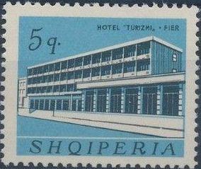 Albania 1965 Buildings