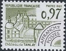 France 1982 Historic Monuments - Pre-cancelled (4th Issue)