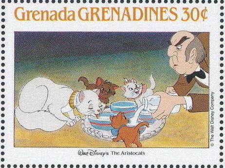 Grenada Grenadines 1988 The Disney Animal Stories in Postage Stamps 6c.jpg