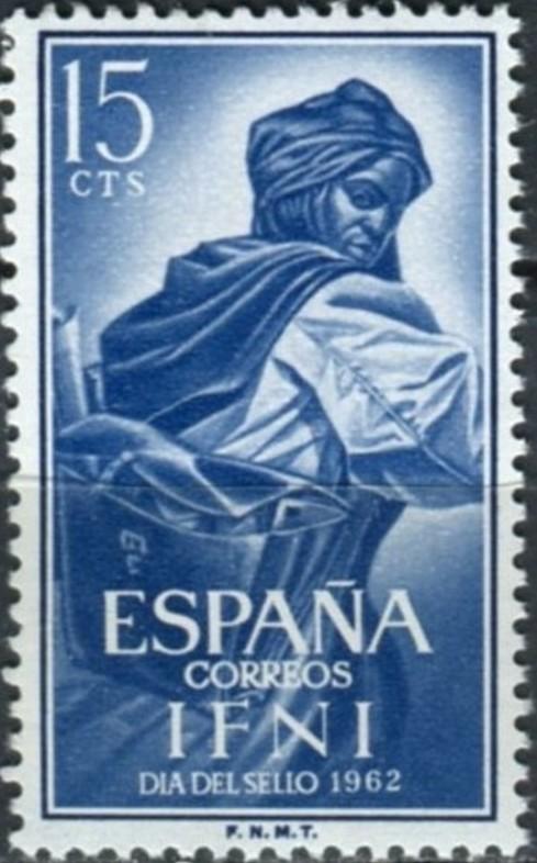 Ifni 1962 Stamp Day