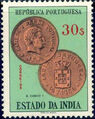 Portuguese India 1959 Portuguese Indian Coins s