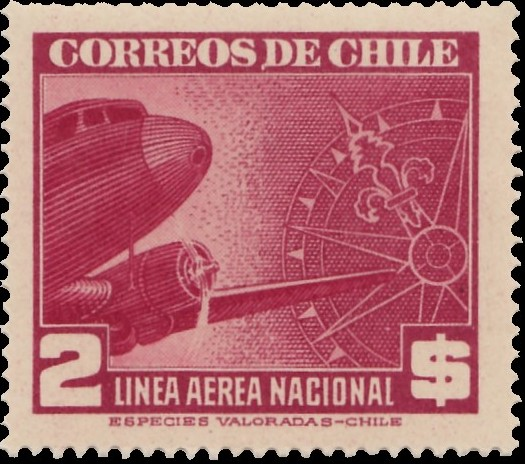 Chile 1941 Air Post Stamps (Type 1941) i.jpg