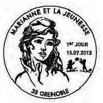 France 2013 Type Marianne Ciappa and Kawena PM Grenoble.jpg
