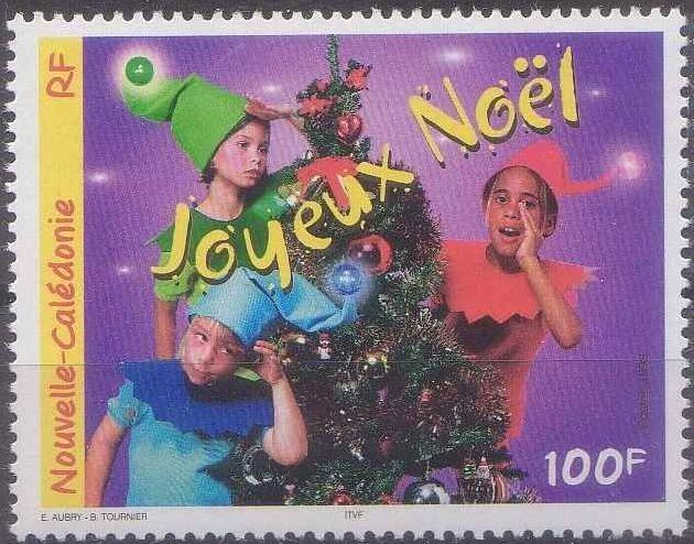 New Caledonia 1999 Christmas