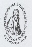 Portugal 1985 2nd Ateneu 85-Philatelic Hall PMa