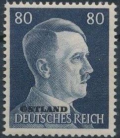 German Occupation-Russia Ostland 1941 Stamps of German Reich Overprinted in Black r.jpg