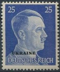 German Occupation-Ukraine 1941 Stamps of German Reich Overprinted in Black m.jpg