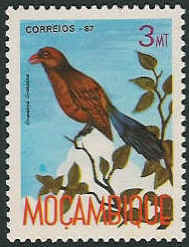 Mozambique 1987 Birds of Moçambique (Third Issue)