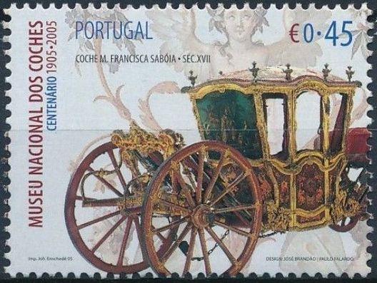 Portugal 2005 1st Centenary of National Coach Museum d.jpg