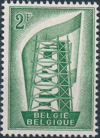 Belgium 1956 Europa a.jpg