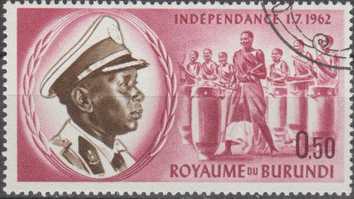 Burundi 1962 Independence
