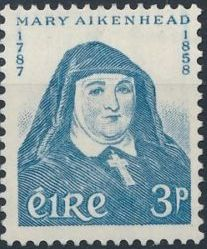 Ireland 1958 Mother Mary Aikenhead (1787-1858) founder of the Irish Sisters of Charity a.jpg
