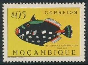 Mozambique 1951 Fishes
