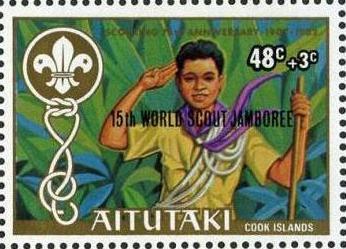 Aitutaki 1983 15th World Scout Jamboree (Semi-Postal Stamps) b.jpg