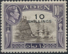 Aden 1951 King George VI Pictorials with New Values k.jpg