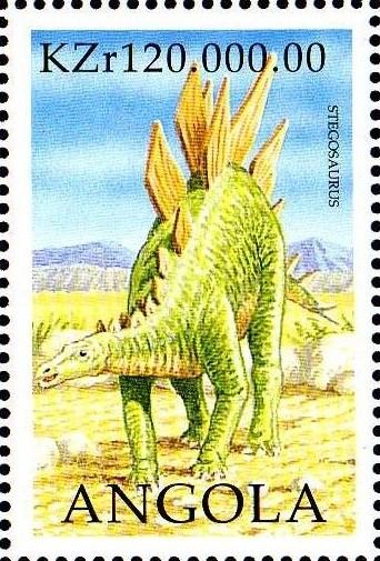 Angola 1998 Prehistoric Animals (2nd Group) h.jpg