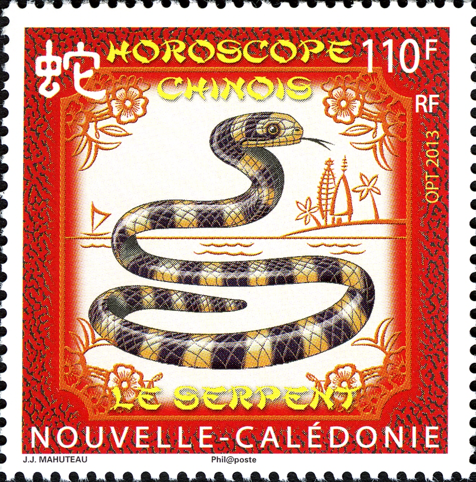 New Caledonia 2013 Year of the Snake