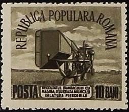 Romania 1953 Agriculture