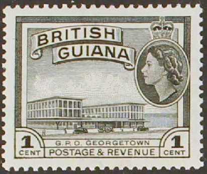 British Guiana 1954 Elizabeth II and Local Scenes