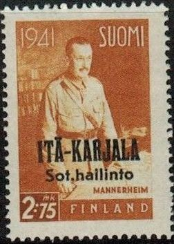 Eastern Karelia 1942 Marshal Mannerheim Overprinted d.jpg