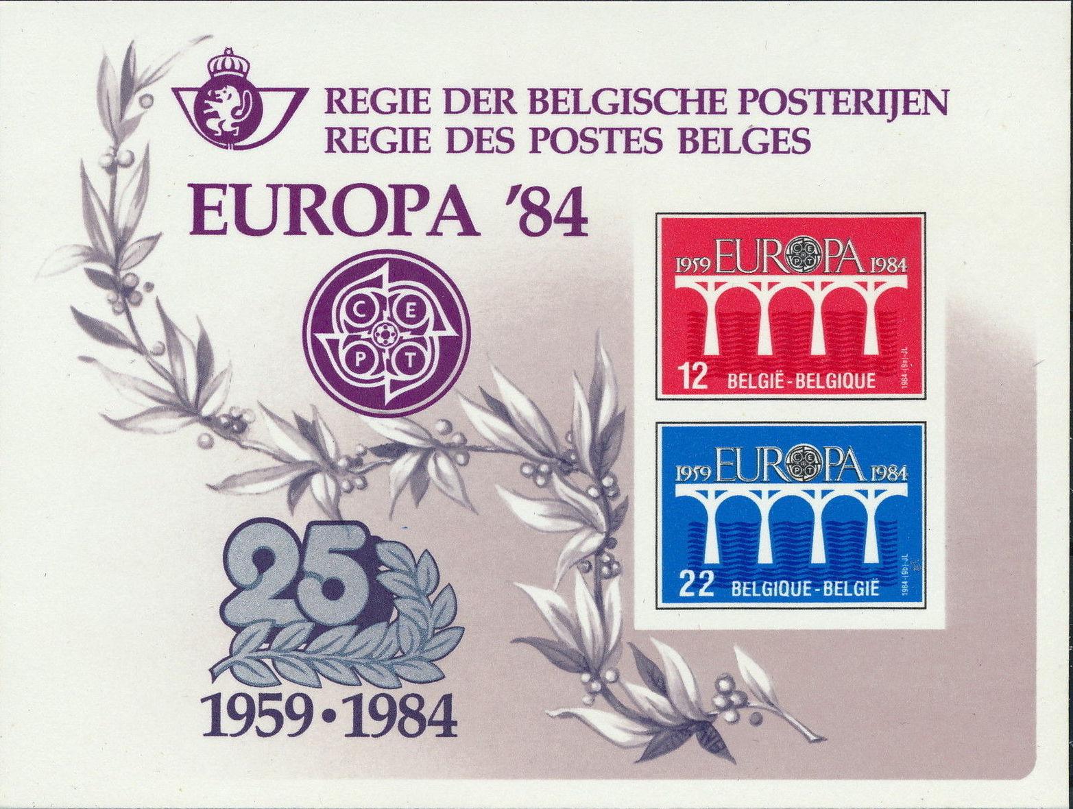 Belgium 1984 Europa h.jpg