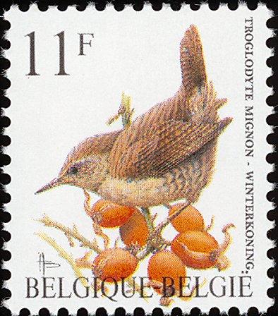 Belgium 1992 Birds (A)