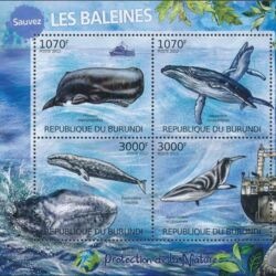Burundi 2012 Protection of Nature - Save the Whales