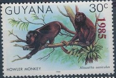 Guyana 1985 Wildlife (Overprinted 1985) b.jpg
