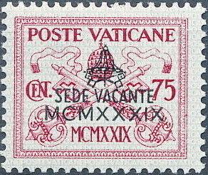Vatican City 1939 Interregnum Issue g.jpg