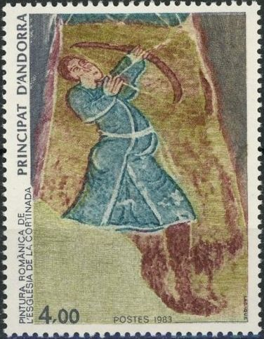 Andorra-French 1983 Religious Painting