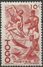 Togo 1947 Native Scenes
