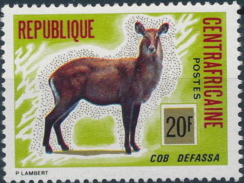 Central African Republic 1975 Wild Animals c.jpg