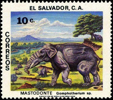 El Salvador 1979 Prehistoric Animals