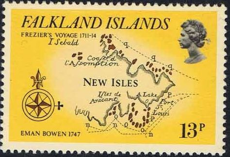 Falkland Islands 1981 18th Century Maps and Charts of the Falkland Islands c.jpg