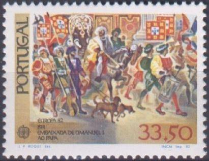 Portugal 1982 Europa