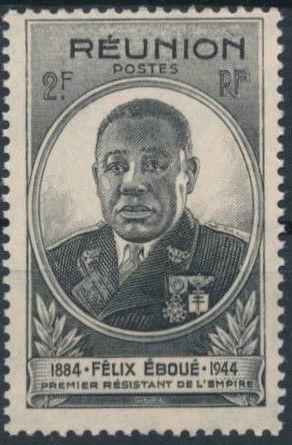 Reunion 1945 Felix Eboue