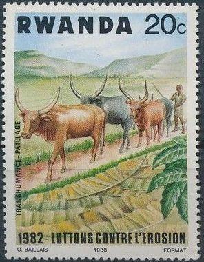 Rwanda 1983 Soil Erosion Prevention
