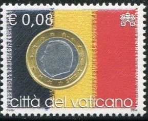 Vatican City 2004 Flags and One-Euro Coins b.jpg