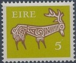 Ireland 1971 Old Irish Animal Symbols i.jpg