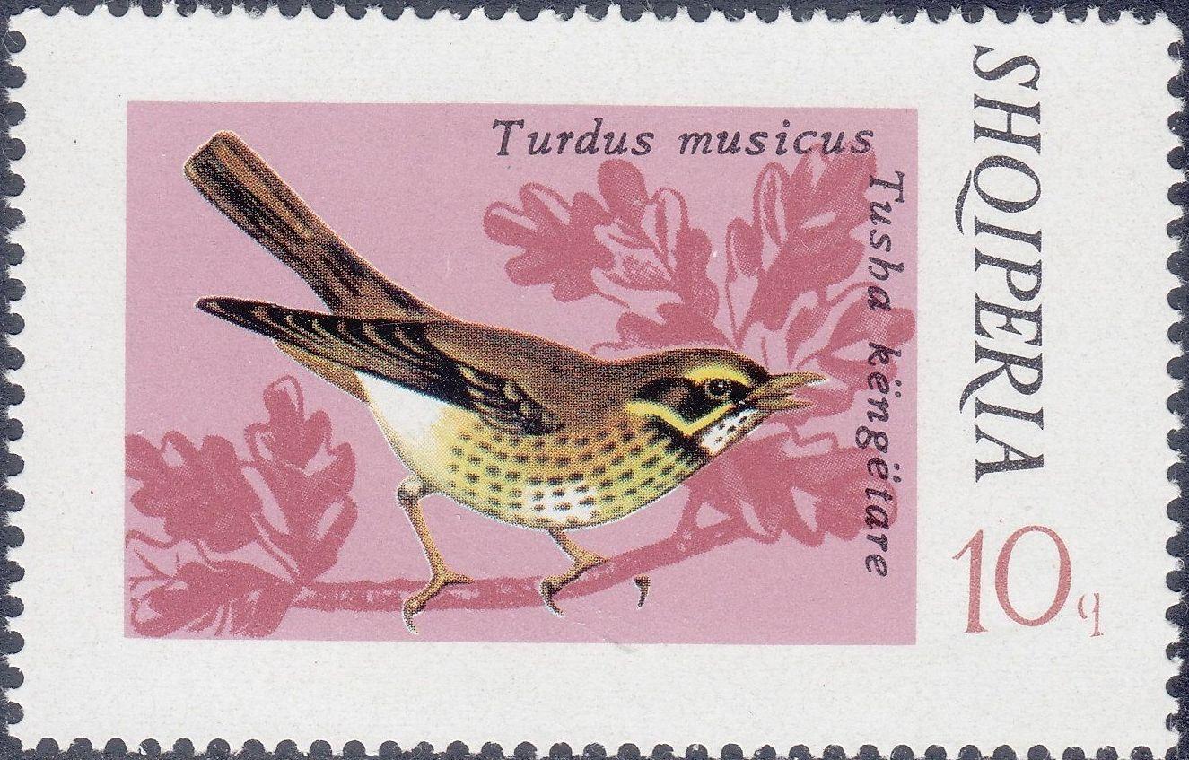 Albania 1974 Song Birds