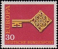 Germany, Federal Republic 1968 Europa b.jpg
