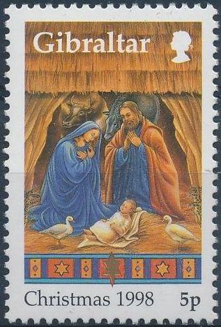Gibraltar 1998 Christmas