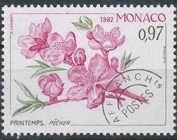 Monaco 1982 The Four Seasons of the Peach Tree