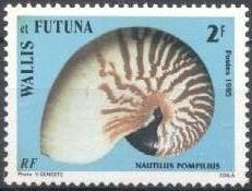 Wallis and Futuna 1985 Sea Shells