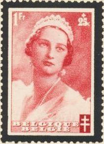 Belgium 1935 Queen Astrid Memorial Issue f.jpg
