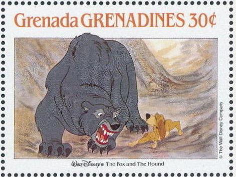 Grenada Grenadines 1988 The Disney Animal Stories in Postage Stamps 2i.jpg