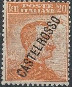 "Italy (Aegean Islands)-Castelrosso 1924 Definitives of Italy - Overprinted ""CASTELROSSO"" d.jpg"