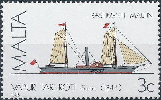 Malta 1985 Maltese Ships (3rd Series)